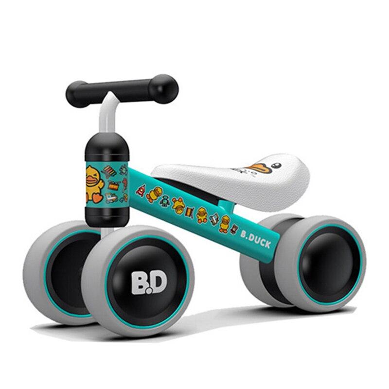 Детский велосипед детский баланс езды на велосипеде игрушки для детей четыре колеса детский велосипед Kick Scooter Bike Extra долл. 2 usd купон - 3