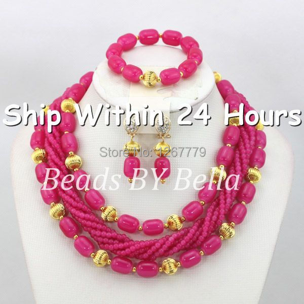 Trendy Bridal Jewelry Fashion Jewelry Set Nigerian Party Beads Necklace Set African Beads Jewelry Set Free Shipping ABC577-1Trendy Bridal Jewelry Fashion Jewelry Set Nigerian Party Beads Necklace Set African Beads Jewelry Set Free Shipping ABC577-1
