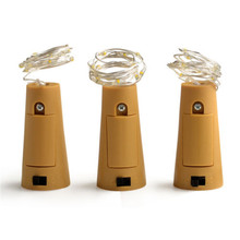 Copper Wire Corker String Fairy Lights