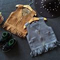 Children dress girls fringed vest s casual fashion jacket 2016 new! Flannelette vest for girl