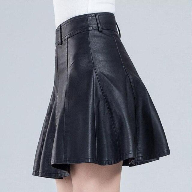 Aliexpress.com : Buy Soft Pu Design High Waist Women Girls Sexy ...