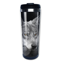 wolf coffee mug design your own car tazas stainless steel tumbler caneca tea Cups