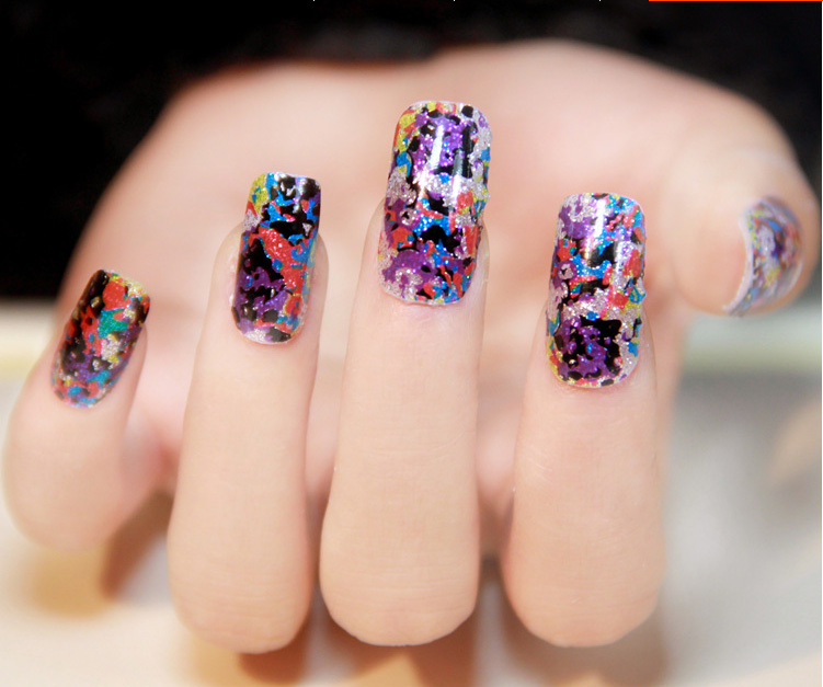 Free Shipping 2014 Newest High Quanlity 8 Sheets Nail Decals More