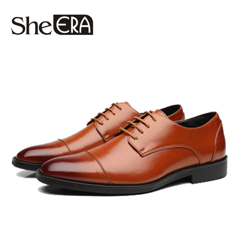 2019 New Brand Full Grain Leather Men Casual Shoes Business Men Dress Shoes Retro Patent Leather Oxford Shoes For Men Size 37-48