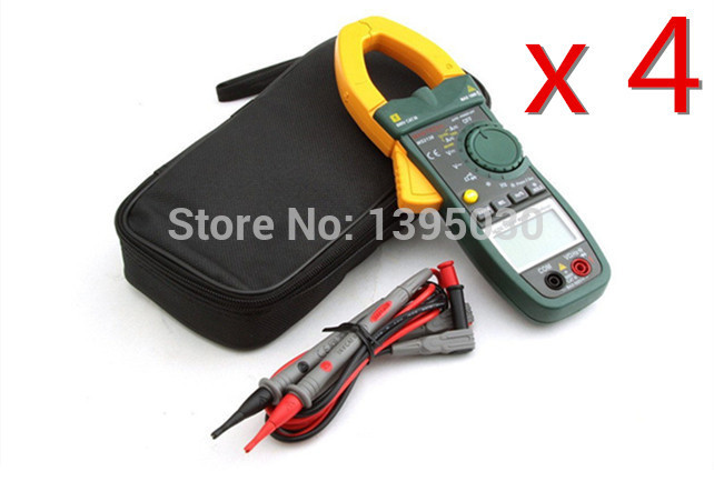 Mini LCD Portable Multimeter Electronic Digital Clamp Meter Auto-Ranging