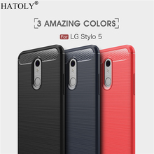 For LG Stylo 5 Case Business Style Soft Silicone Rubber Armor Shell TPU Phone Cover Case for LG Stylo 5 Case for LG Stylo 5 все цены