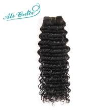 ALI GRACE Hair Brazilian Deep Wave 1 Bundle 100% Remy Human Hair Extension Weave Natural Color Free Shipping