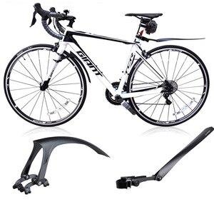 Image 1 - 새로운 특허 700*23 25c 자전거 흙 가드 자전거 도로 자전거 14 16 20 인치 접이식 자전거 진흙 가드 초경량