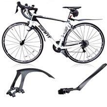 Neue Patentierte 700*23 25C Bike Kotflügel Fahrrad Vorne Hinten Kotflügel für Rennrad 14 16 20 ZOLL Klapp bike Schlamm Schutz Ultraleicht