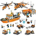 All series Compatible Legoes City Arctic Bricks Building Blocks Model toys for Childrens Kids Gift Snowmobile Ice Crawler