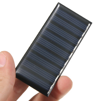 Solar Panel DIY 5V 0.5W 100mAh Mini Battery Powered Models Polycrystalline Silicon Epoxy for Charging Cellphone DC Wholesale 3