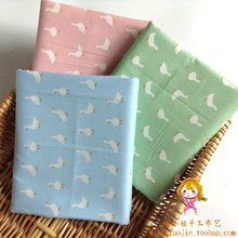 Cartoon twill cotton kintted cloth baby bedding fabric baby draperies 100 160cm