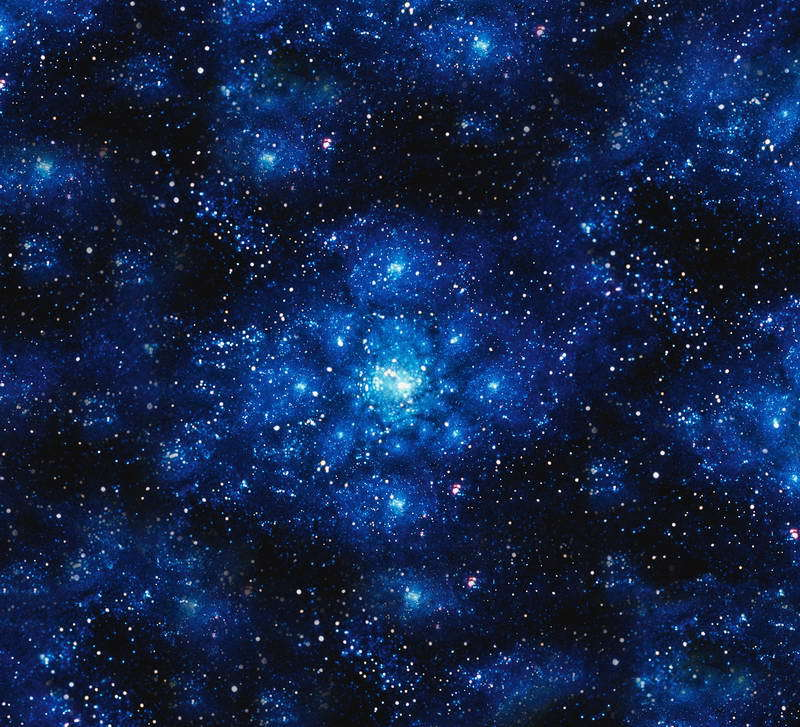10x10FT Dark Blue Space Glitter Sequins Sky Sparkles Clouds Custom Backgrounds Photography ...