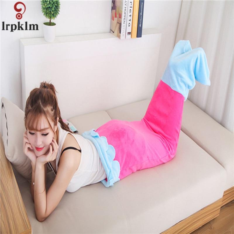 Mermaid Blanket For Children One Piece Sleeping Bag Nightwear Pajamas 2018 Cute Blankets Night Cartoon Onesies For Child sy1280