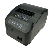 Alta qualidade 80mm pos impressora de recibos térmicos máquina corte automático velocidade impressão rápido usb + serial/ethernet porto pode escolher