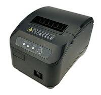 Hoge kwaliteit 80mm pos thermische printer automatische snijmachine afdrukken snelheid Snelle USB + Seriële/ethernet-poort kan kiezen