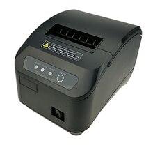 Impresora térmica de recibos POS de 80mm de alta calidad, máquina de corte automático, velocidad de impresión, puerto USB + serie/Ethernet