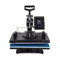 Advanced New Design 8 In 1 Combo Heat, Transfer Machine,Sublimation/Heat Press, Machine For Plate/Mug/Cap/TShirt /Phone case Etc
