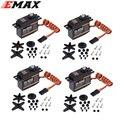 4pcs/lot EMAX ES9258 Metal Gear Digital Servo 27g/ 2.5 kg/ 0.05 sec for rc helicopter Wholesale Dropship