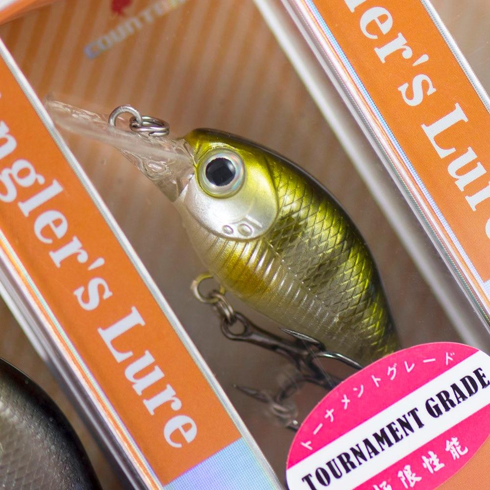 37mm 4.5g Crank Bait Plastic Hard Lures Fishing Baits, Crankbait,  Wobblers, Plug, Freshwater Chatterbait-2