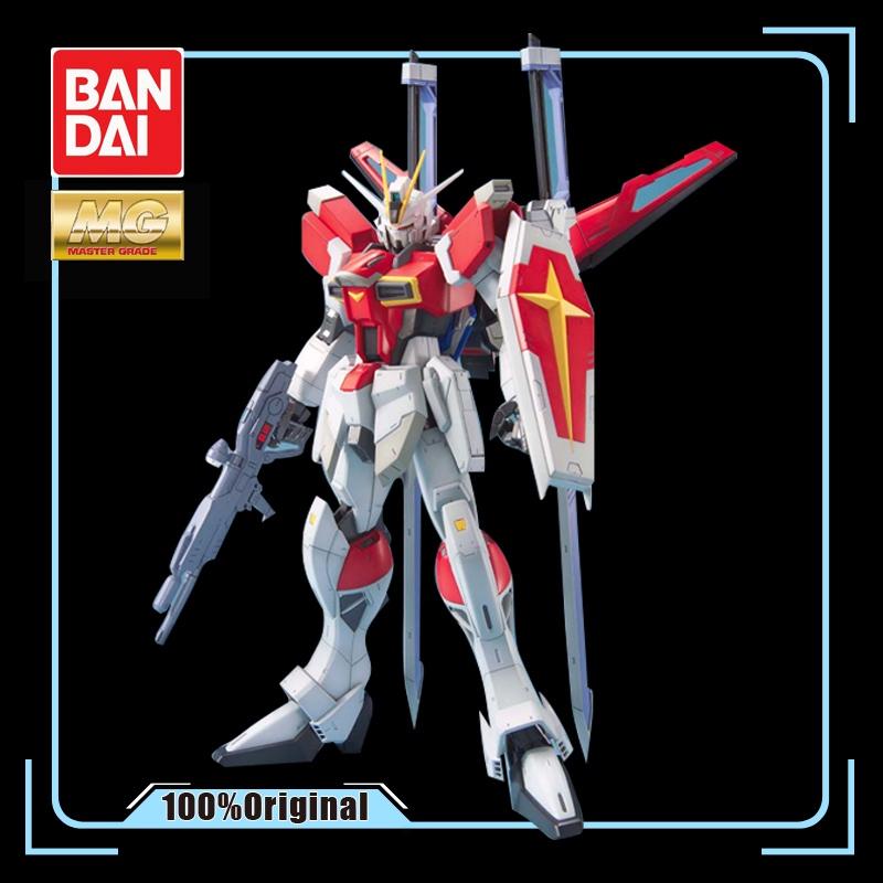 BANDAI MG 1/100 SEED DESTINY ZGMF-X56S Sword Impulse Gundam Effects Action Figure Model Modification image