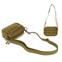 Protector Outdoor Woodland Tactical Utility MOLLE Hip Pack Pouch Outdoor Nylon Bag Military Waist Belt Bag
