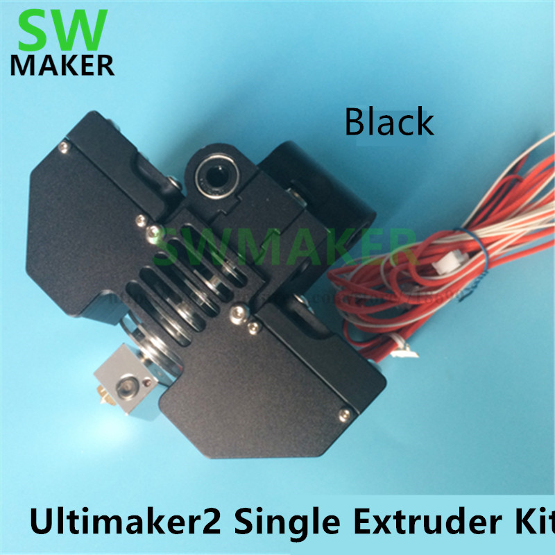 SWMAKER UM2+ 3D printer parts Ultimaker2+ V5 V6 j head single extruder kit all metal print head hot end kit 3d printer parts ultimaker v2 control board ultimaker 2 generations board interface board with lcd genuine spot free shipping