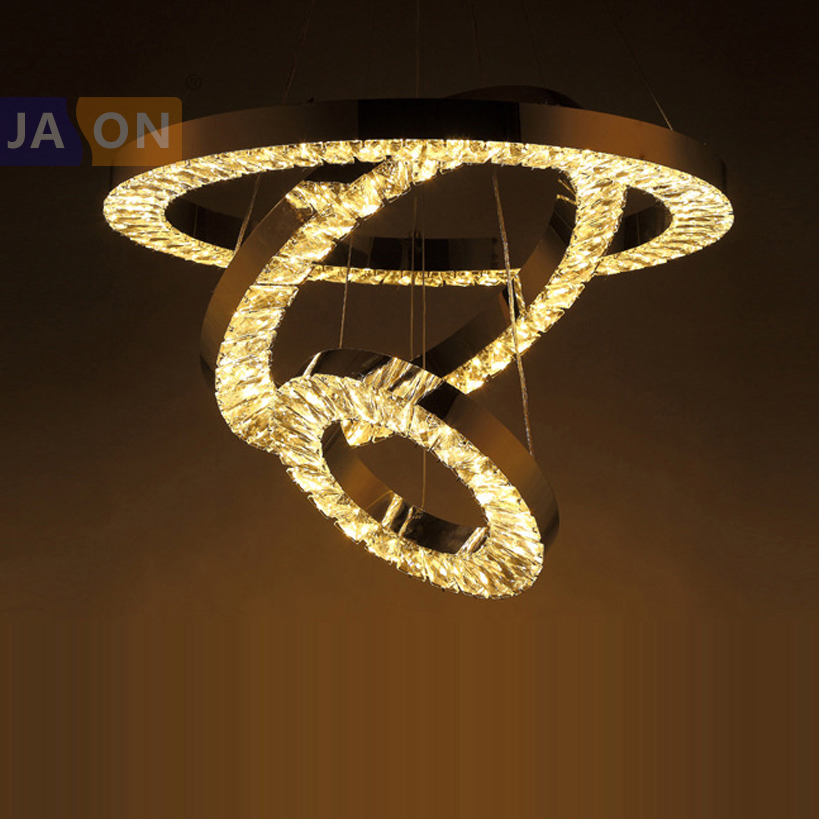 LED Modern Stainless Steel Crystal Chrome Ring LED Lamp LED Light.Pendant Lights.Pendant Lamp.Pendant light For Dinning Room LED Modern Stainless Steel Crystal Chrome Ring LED Lamp LED Light.Pendant Lights.Pendant Lamp.Pendant light For Dinning Room