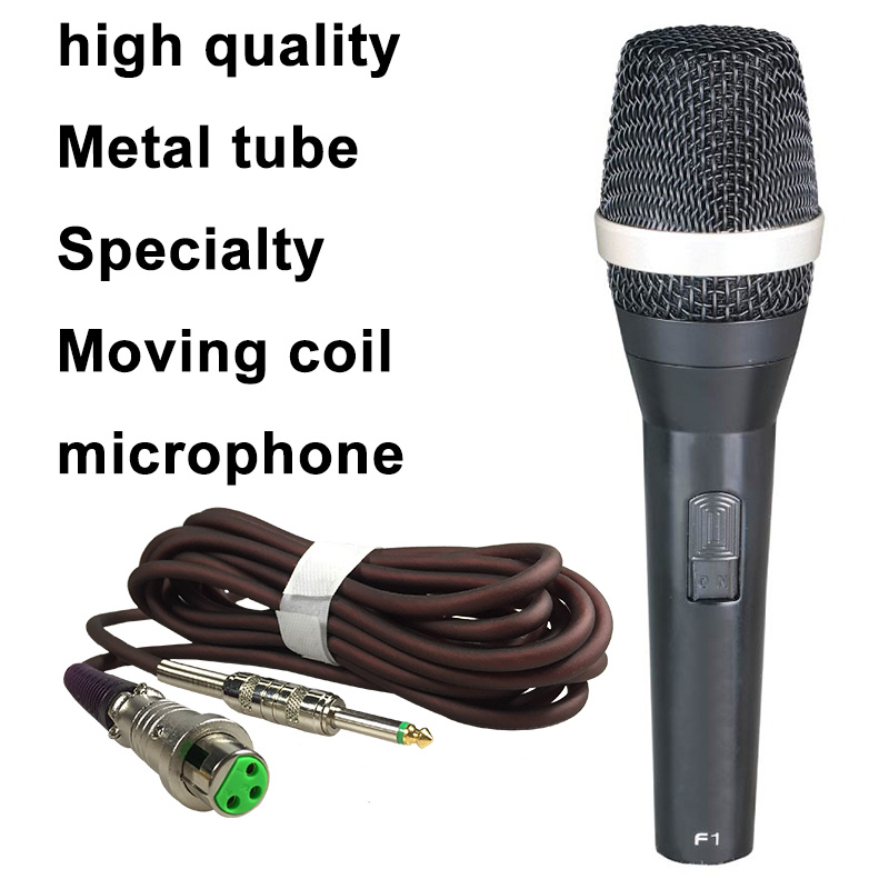 Professional Dynamic Microphone F1 High Quality Dynamic Microphone Recording Microphone new concept of high-end microphone