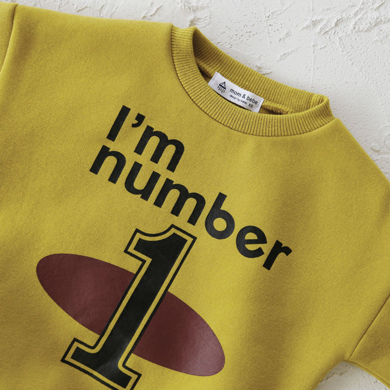 mother daughter dresses christmas sweaters family matching mother daughter clothes Number 1  Yellow family look Thicken velvet sweatshirts for girls  hoody for girls svitshot for girls pjmasks  (4)