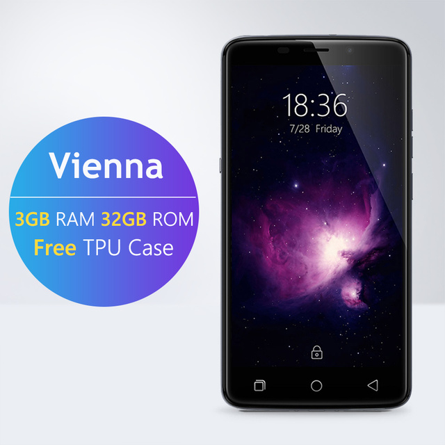 Stock Ulefone Vienna HIFI 5.5inch FHD 4G LTE Android 5.1 3GB RAM 32GB ROM 64-bit MTK6753 Octa Core 13.0MP Touch ID MobilePhone