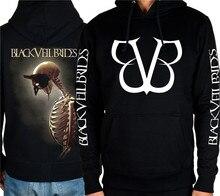4 designs Pullover 3D Skull Outerwear Black Veil Brides angel Rock hoodies shell jacket heavy metal brand clothing Sweatshirt