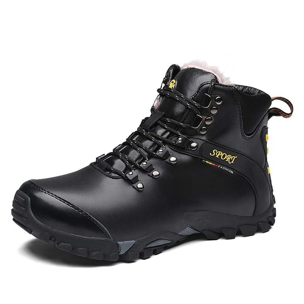 Good Quality Winter Waterproof Hiking Shoes for Men Super Warm Snow Boots Sports Wear Resistance Male Sneakers Plus Size 10.5 ювелирное изделие 01p325665 page 3