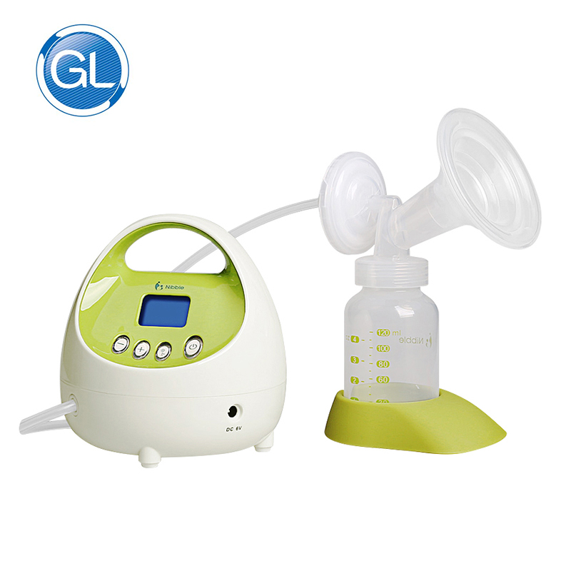 Gland Automatic breast pump Suction Portable Electric Breast Pump BPA Free Single Breast Milk Pump LCD Display Baby Suction automatic electric breast pump lcd display portable silent milk pump breast feeding electric breast pump accessories yellow