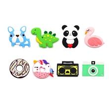 Baby Silicone Teether DIY Pendants breastfeeding Accessories Cute Animal Toy Teething Jewelry Bead Nature Animal Teether N4