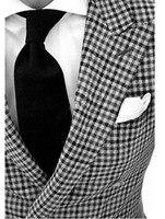 Custom Made to Measure men's BESPOKE suit,Classiclack white checker men tuxedo,Tailored tuxedo (Jakcet+Pants+Tie+Pocket square)