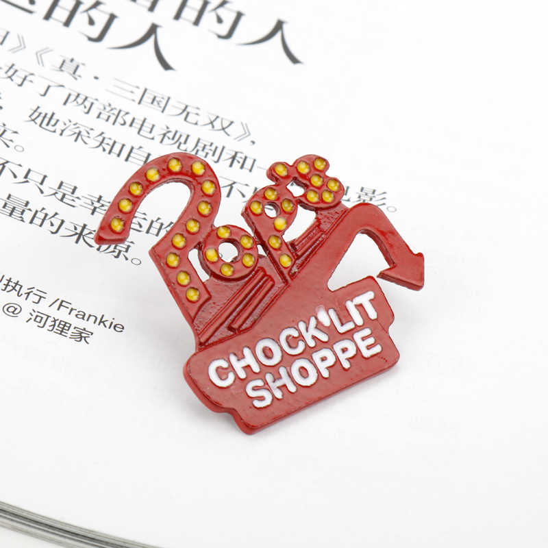 dongsheng New TV series jewelry Riverdale Enamel Pins Brooch Lapel Pin Button Clothes Bag Badges-40