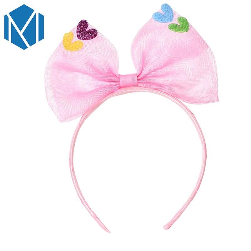 Baby Girls Infant Hairband Crytral Heart Headband Headwear Hair Accessories Hot