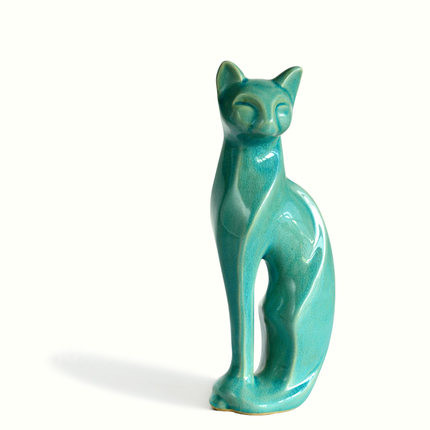 Cat Ceramic Arts And Crafts Furnishing Articles Gifts Household Items Sitting Room Decorate Desktop Decoration Free Shipping