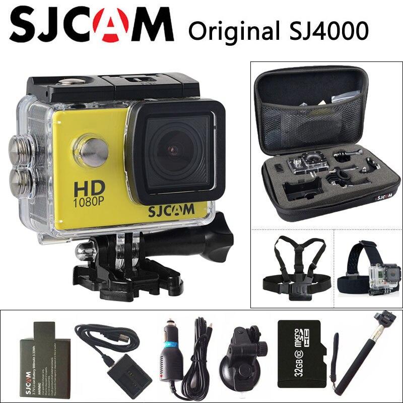 bilder für SJCAM SJ4000 Sport Action Kamera DV 1080 P Volle HD 2,0 zoll Tauchen 30 mt Wasserdichte mini Camcorder Original SJ 4000 Cam