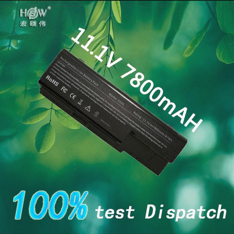 HSW 7800MAH laptop battery Replacing for acer Aspire 5910G 5920 5920G 5739G 5739 6530 6935 6920G 6930G 6930 6935G 7720Z Bateria mbasr06002 motherboard for acer aspire 6930 6930z 6930g 6930zg mb asr06 002 zk2 da0zk2mb6f1