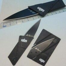Кредитная карта нож складной нож лезвие из нержавеющей стали Бумажник ножи выживание отдых на природе инструмент тактический мини ручной инструмент карманный нож