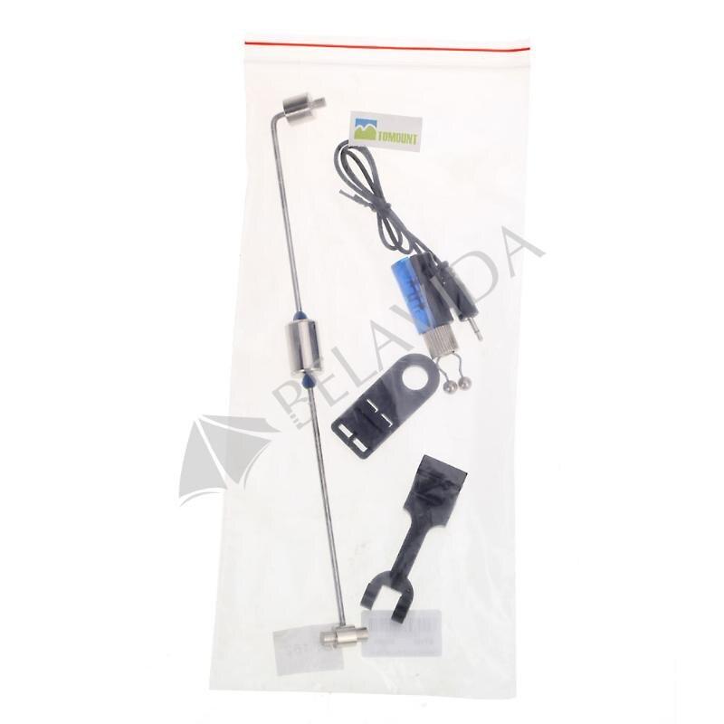 Fishing Hanger Swinger Bite Alarm Indicator Light Blue