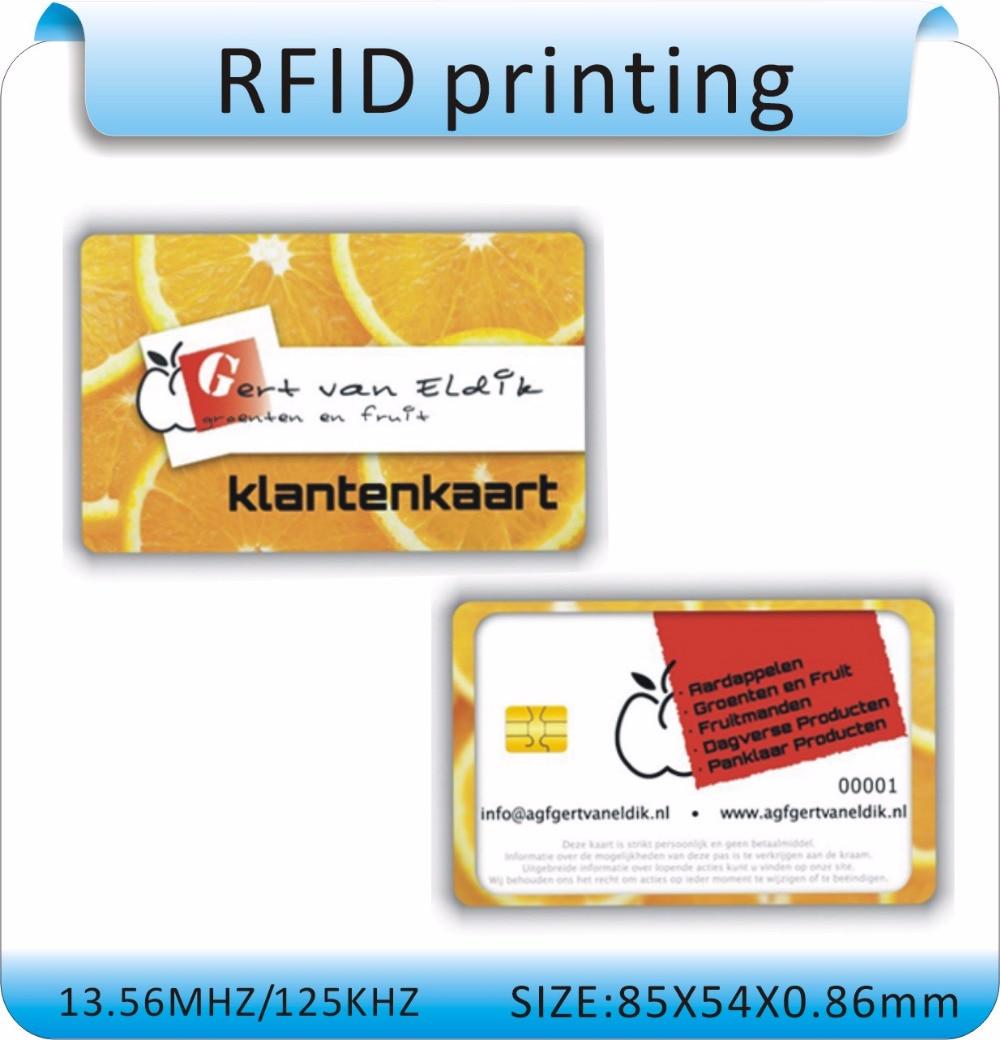 100 pièces Double face Six couleurs impression Offset IC avec SLE 4442 carte ISO 7816 carte à puce vierge contact IC carte/hôtel porte carte