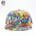 2017 New Pokemon Hiphop Baseball Cap for Visors Snapback Caps Sports Summer Hat Gorra
