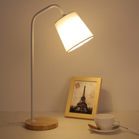 Simple Fashion Desk Lamps LED Eye Protection Bedroom Bedside Learning Reading Table Lamp