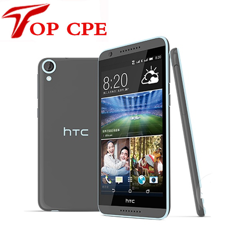 "bilder für Original htc desire 820 dual sim handy octa core 5,5 ""Qualcomm Android 4.4 13.0MP RAM 2 GB ROM 16 GB Refurbished telefon"