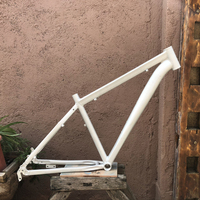 Raw mountain bike frame 18inches, 26 inches /27.5inches wheel Aluminum alloy suspension frame MTB bike frame