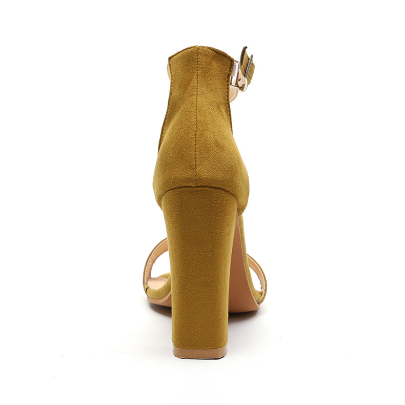 HTB1Mkh9bozrK1RjSspmq6AOdFXaA Women Sandals Ankle Strap Summer Shoes Woman High Heels Sandals Plus Size 43 Chaussures Femme Open Toe Women Summer Sandals