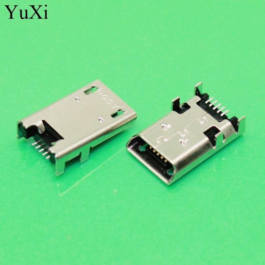 YuXi 2pcs Charging Socket Port For ASUS ME372 ME301 K00E ME302 ME180 K013 ME180 ME301T K00F ME372CG ME400C USB Jack Connector